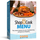 Shop'NCook Menu Grocery Shopping List & Meal Planner Software