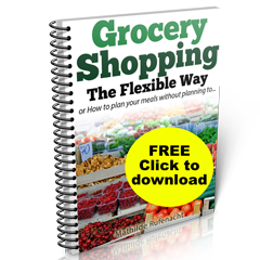 Free Report - The Flexible Grocery Shopping System