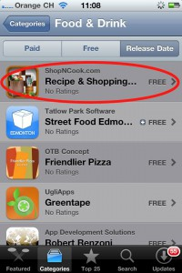 iShopNCook Recipe & Shopping List app now on the App Store!