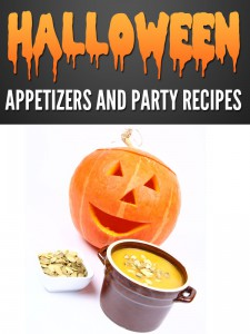 Halloween Appetizers and Party Recipes cookbook