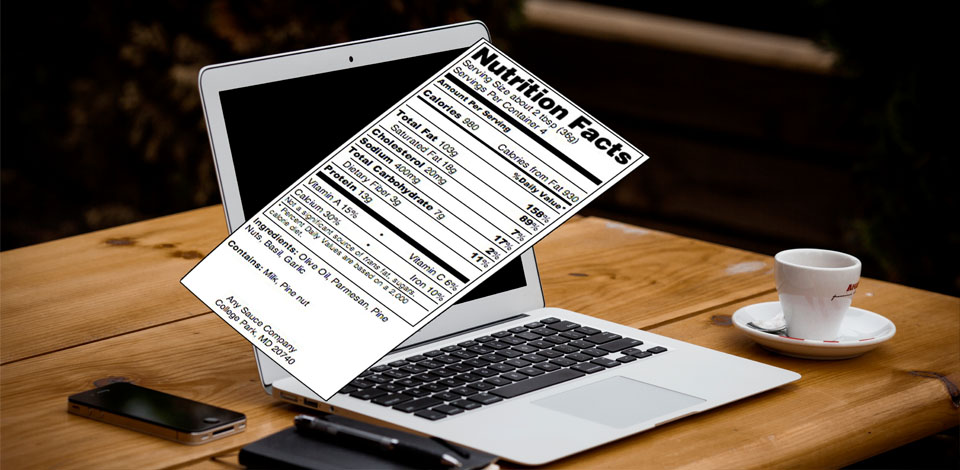 3 Tips to Improve your Nutritional Food Labeling with Software