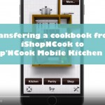 Transferring your cookbooks from iShopNCook to Shop'NCook Online