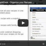 Introduction to iShopNCook app