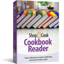 Free recipe software to collect, organize recipes, read cookbooks and print recipe cards